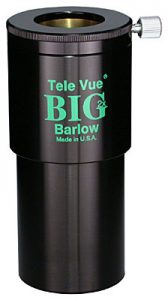 tele vue 2x big barlow