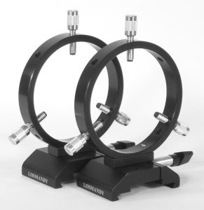 Losmandy DVR Guide Scope Ring Set DVR108
