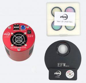 ZWO ASI1600MM-C Mini Kit 1