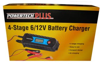 PowerTech 4 Stage Battery Charger