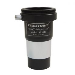 Celestron Universal Barlow and T-Adapter 1.25''