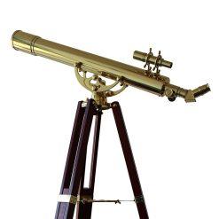 Saxon Grandeur Brass Telescope
